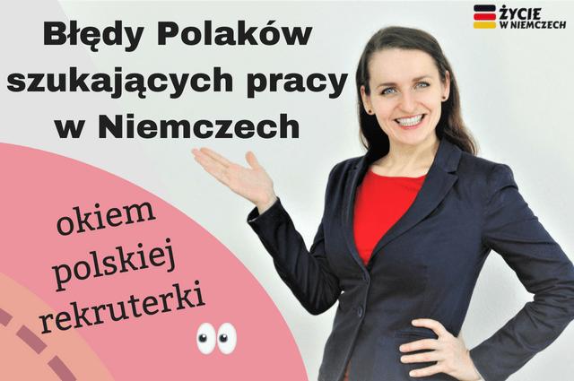 Błędy Polaków szukających pracy w Niemczech-min