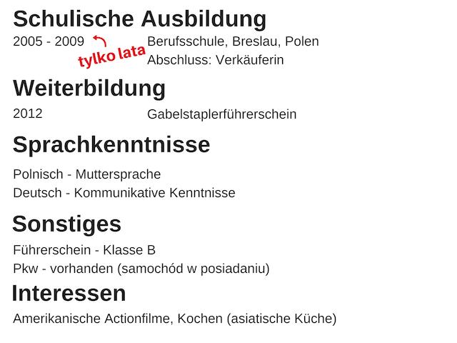 Cv Po Niemiecku W 9 Szybkich Krokach Porady Prosto Od Rekruterki