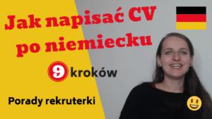 Kliknij w zdjęcie i wejdź w poradnik, jak napisać CV po niemiecku
