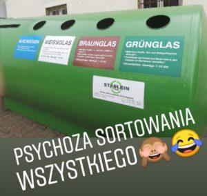 sortowanie smieci niemcy
