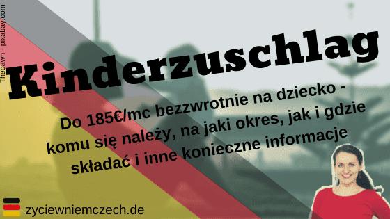 Kinderzuschlag po polsku