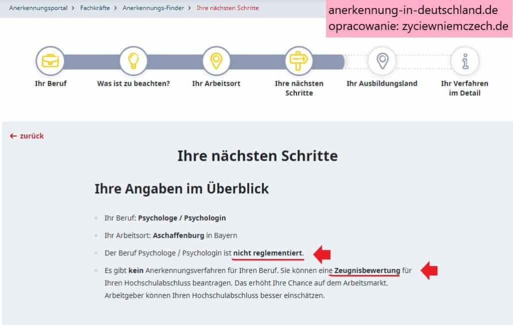 uznanie kwalifikacji w Niemczech-min